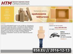 Miniaturka domeny www.htmopakowania.pl
