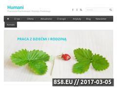 Miniaturka domeny www.humani.pl