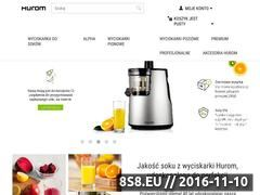 Miniaturka Wyciskarka do soku (hurom.com.pl)