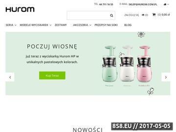 Zrzut strony Firma Hurom Polska