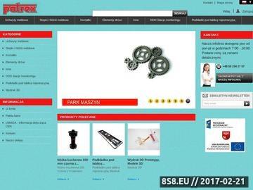 Zrzut strony Producent - akcesoria meblowe, stopki meblowe i uchwyty meblowe