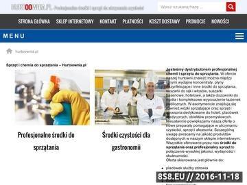 Zrzut strony Wózki do sprzątania na hurtoownia.pl
