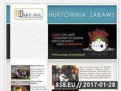 Miniaturka domeny www.hurtownia-zabawy.pl