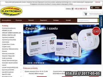 Zrzut strony Hurtownia elektryczna Warszawa
