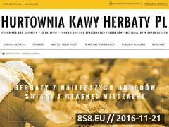 Miniaturka domeny hurtowniakawyherbaty.pl