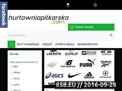 Miniaturka domeny hurtowniapilkarska.com