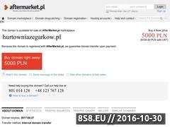 Miniaturka domeny www.hurtowniazegarkow.pl