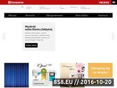 Miniaturka domeny husqvarna-viking.pl