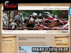 Miniaturka domeny www.hussar.com.pl