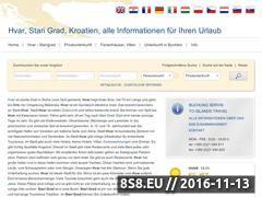 Miniaturka domeny www.hvar-starigrad.eu