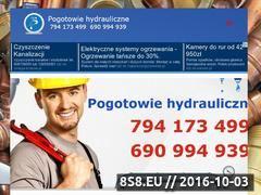 Miniaturka domeny www.hydrauliczne-pogotowie.pl