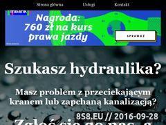 Miniaturka domeny www.hydraulik-lodz.cba.pl