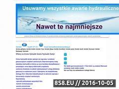 Miniaturka domeny www.hydraulik-serwis.olsztyn.pl