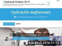 Miniaturka domeny www.hydraulik-wejherowo.pl