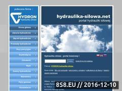 Miniaturka domeny www.hydraulika-silowa.net