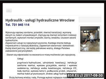Zrzut strony Usługi hydrauliczno elektryczne Wrocław