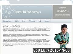 Miniaturka domeny www.hydraulikwarszawa.waw.pl