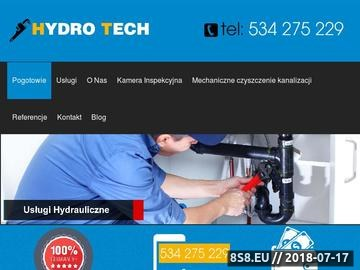 Zrzut strony Usługi hydrauliczne