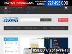 Miniaturka domeny www.hydroizolacja.net.pl