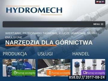 Zrzut strony Specjalistyczny sprzęt z zakresu hydrauliki siłowej