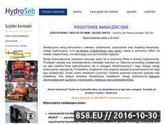 Miniaturka domeny www.hydroseb.pl