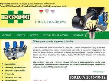 Zrzut strony Hydrotech J. Gutowski - hydraulika siłowa, napędy i sterowania