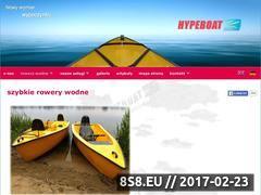 Miniaturka domeny www.hypeboat.com