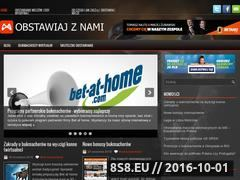 Miniaturka domeny www.i-bukmacher.pl