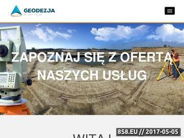 Zrzut strony Geodezja Robert Zagała - konwertowanie map