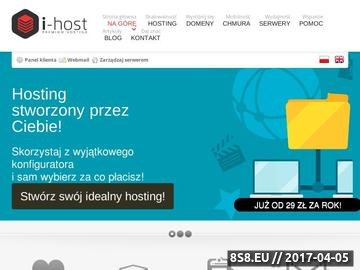 Zrzut strony Tani hosting stron