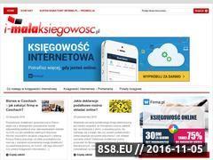 Miniaturka domeny i-malaksiegowosc.pl