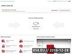 Miniaturka domeny i-sklep.ame.com.pl