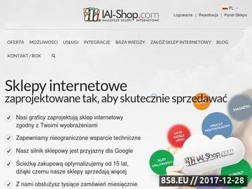 Zrzut strony Platforma sklepu internetowego IAI-Shop.com