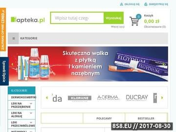 Zrzut strony Apteka online