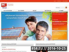 Miniaturka domeny www.ibc-solar.pl