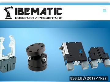 Zrzut strony Przedsiębiorstwo handlowe IBEMATIC obrotnice pneumatyczne i elektryczne