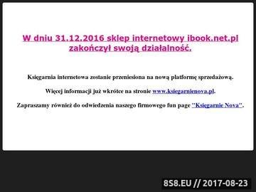 Zrzut strony Tanie książki - ibook.net.pl