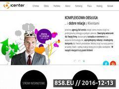 Miniaturka domeny www.icenter.pl