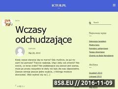 Miniaturka domeny ictur.pl