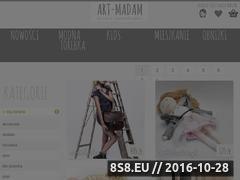 Miniaturka domeny ida-swieta.art-madam.pl