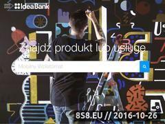 Miniaturka domeny www.ideabank.pl