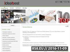 Miniaturka domeny www.ideabest.pl