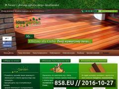 Miniaturka domeny www.ideagarden.pl