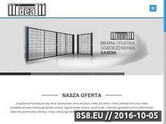 Miniaturka domeny www.ideal-rolety.pl