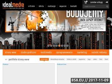 Zrzut strony Projektowanie grafiki