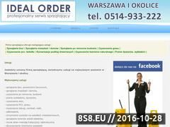 Miniaturka domeny www.idealorder.pl