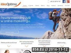 Miniaturka domeny ideaoptima.pl