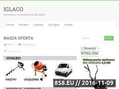Miniaturka domeny www.iglaco.pl