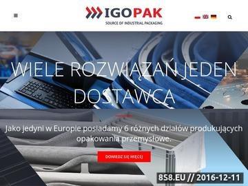 Zrzut strony Plastikowe pojemniki IGOPAK