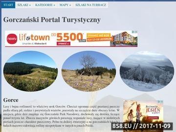 Zrzut strony Odkryj Gorce i Beskid Wyspowy - iGorce